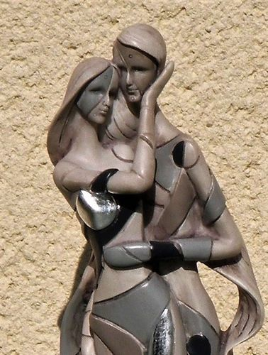 STATUETTE COUPLE INFLUENCE