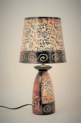 LAMPE FEUILLAGES