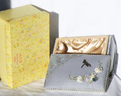 COFFRET RETRO SATIN